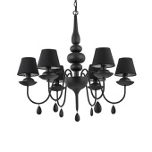 Люстры Ideal Lux BLANCHE SP6 NERO